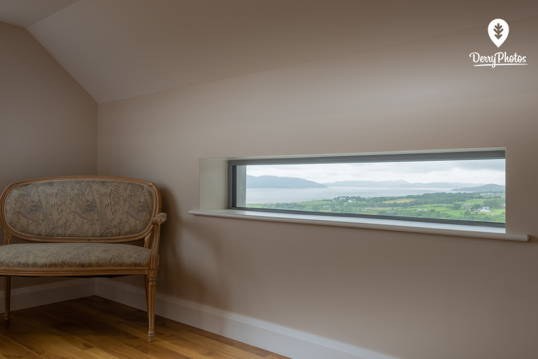 Interior home photgraphy by bernard ward photographer from Derry Northern Ireland