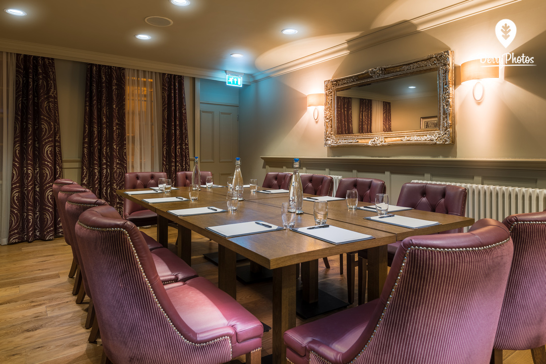 Bishops Gate Hotel - Meeting rooms - conference room - meeting venue for business - Photography by DerryPhotos photographer Bernard Ward-6970-HDR