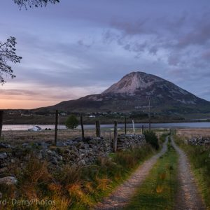 Mount Errigal as seen from Dunlewey