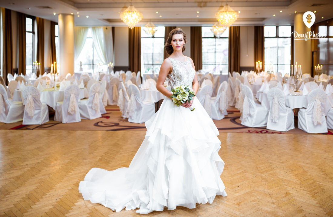 City Hotel Wedding shoot - Lifestyle photography by Bernard Ward from DerryPhotos