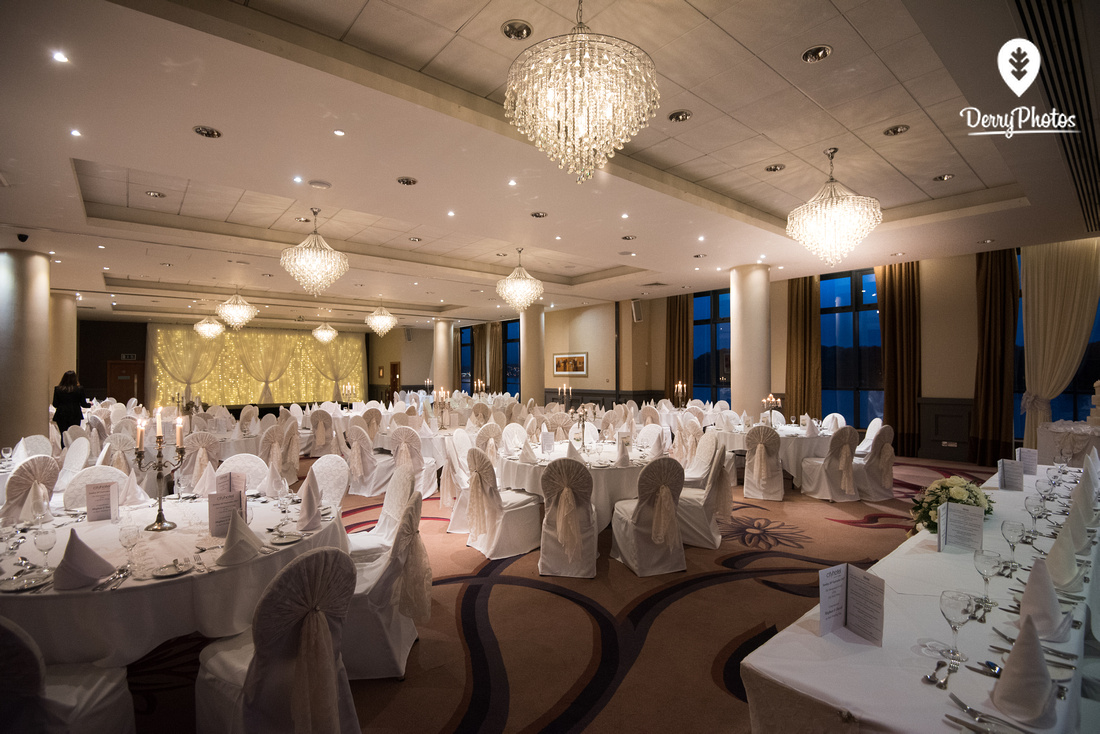 City Hotel wedding location - ballroom