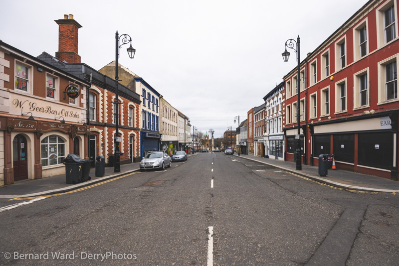 Derry in Lockdown – Coronavirus / Covid-19 2020