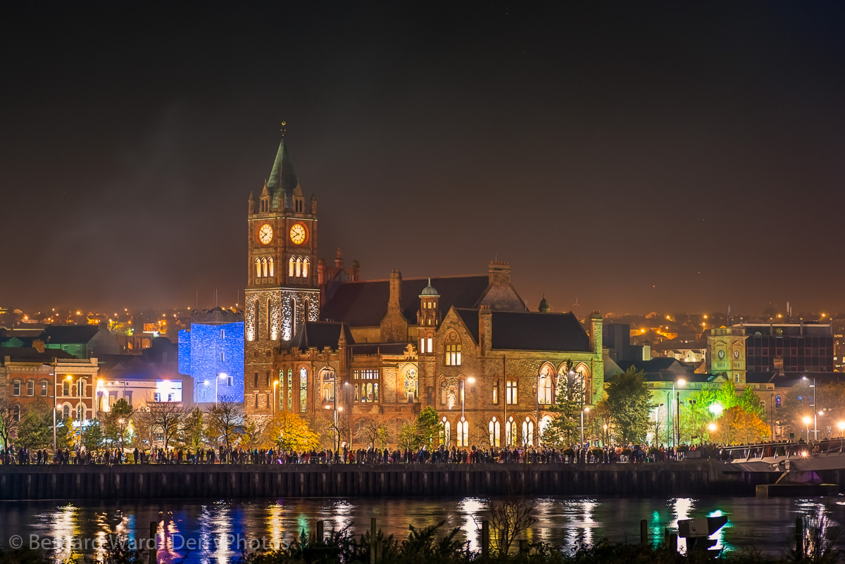 The Guildhall on the Banks of the Foyle