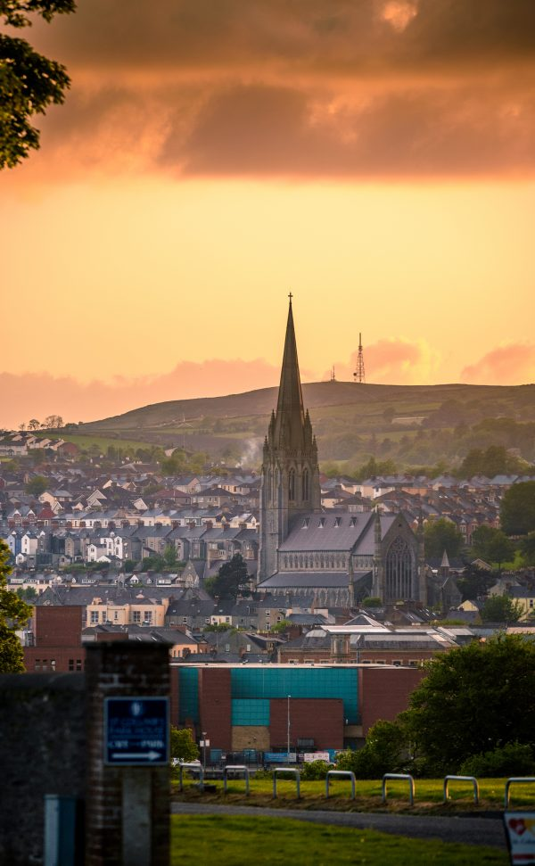 St Eugenes Cathedral Derry